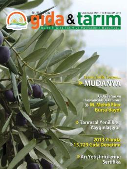 Bursada Gıda Tarım Dergisi 27.Sayısı
