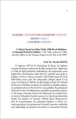 özet kitapcığı / summary booklet