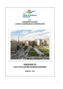 Kırşehir - Çevre ve Şehircilik Bakanlığı