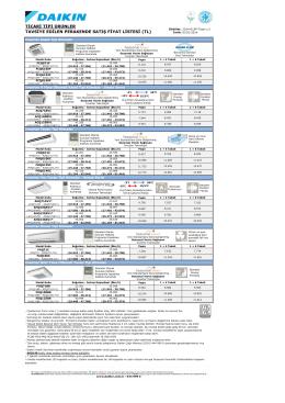 20140303-Daikin Fiyat Listesi-Sky
