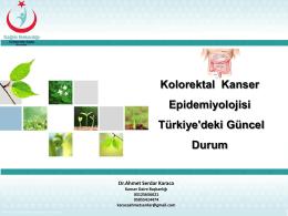 Dr. Ahmet Serdar KARACA - Türkiye Halk Sağlığı Kurumu