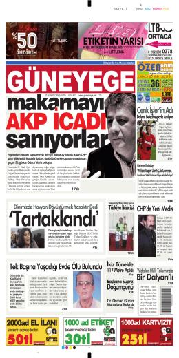 05 Şubat 2014 - Güney Ege Gazetesi