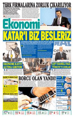 25 eylül 2014 - Ekonomi Gazetesi