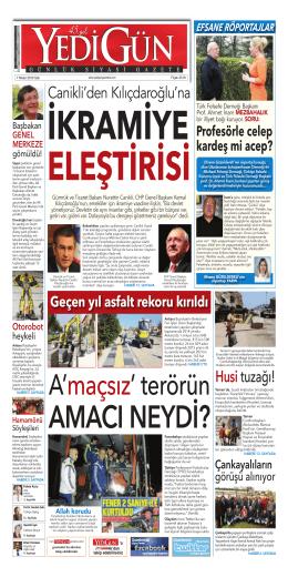 Canikli`den Kılıçdaroğlu`na