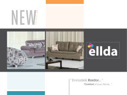 Ellda Mobilya Katalog