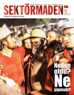 Murat Turan - Sektörmaden Dergisi | Anasayfa