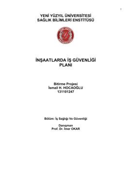 İsmail H. HOCAOĞLU - İstanbul Yeni Yüzyıl Üniversitesi