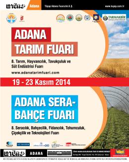 Eylül 2014 - Türkiye Ziraat Odaları Birliği