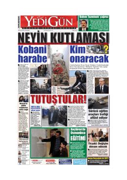 Kobani harabe Kim onaracak