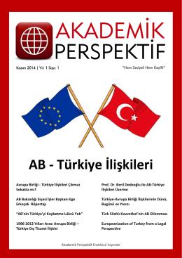 AB - Türkiye İlişkileri
