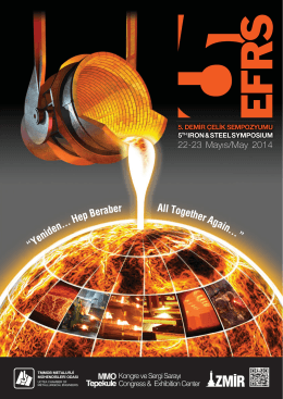 22-23 Mayıs/May 2014 - 5. EFRS ve Demir