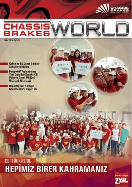 Sayı 6 - 2014 - Ekim - Chassis Brakes International Türkiye