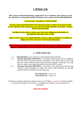 lipid metabolizması-7 MAYIS 2014