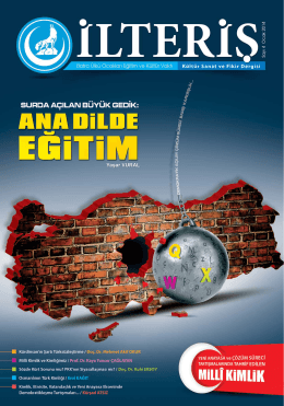 İLTERİŞ / Bafra Ülkü Ocakları Eğitim ve Kültür Vakfı Kültür Sanat ve