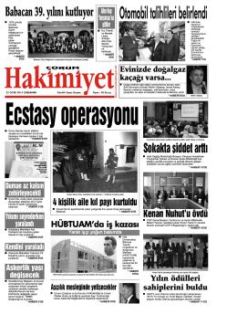 22 ocak.qxd - Çorum Hakimiyet Gazetesi