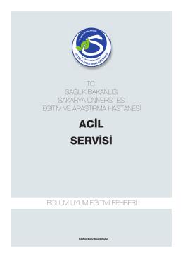 Acil Týp Kliniði - Sakarya Eğitim ve Araştırma Hastanesi