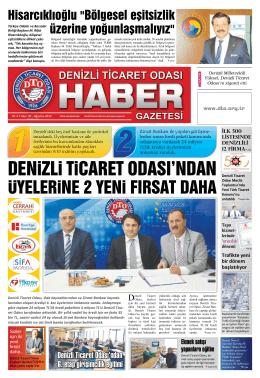 Gazete 40 - Denizli Ticaret Odası