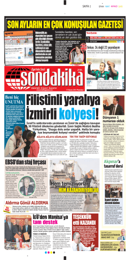 Aldırma - Sondakika Gazetesi