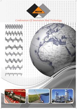 ınotek katalog - İnotek Makina vibrasyon motoru,çimento helezonu