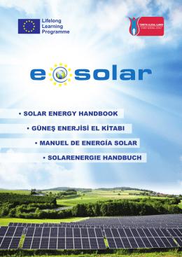 Güneş Enerjisi El kitabı yayınlandı