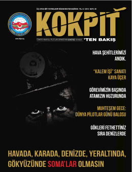 nisan-mayıs 2014 - Türkiye Havayolu Pilotları Derneği