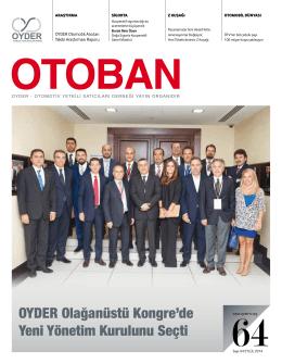 Otoban Dergisi | Sayı 64 Eylül 201406.11.2014