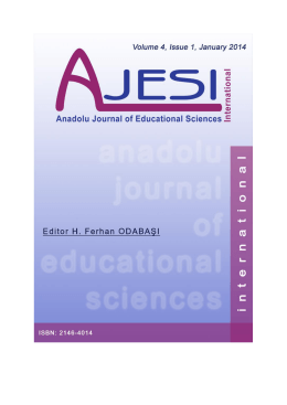 Download Full Issue - ajesi