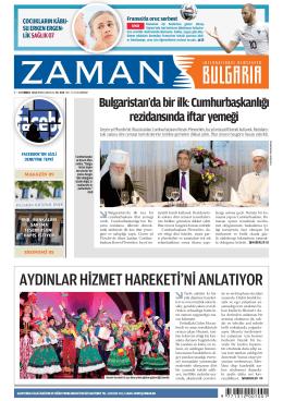 Sayı 27: 7 — 13 Temmuz 2014