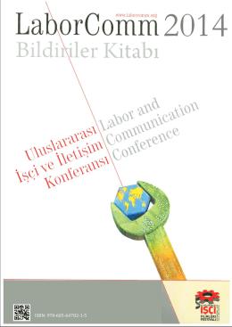 Bildiriler Kitabı - LaborComm – Uluslararası İşçi ve İletişim Konferansı
