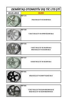 GÜNCEL STOK Diğer Modellerimiz - Demirtaş Otomotiv | Oto Jant
