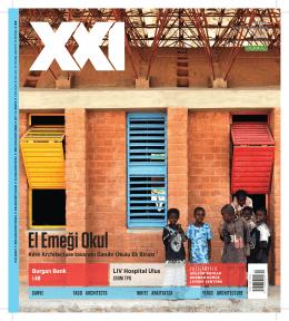 El Emeği Okul - XXI Mimarlık Tasarım ve Mekan Dergisi