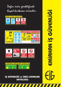 emirhan LEVHA broşür.cdr - Emirhan İş Güvenliği Emirhan İş