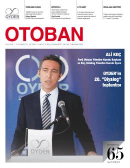 Otoban Dergisi | Sayı 65 Kasım 201423.12.2014