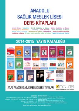 anadolu sağlık meslek lisesi ders kitapları