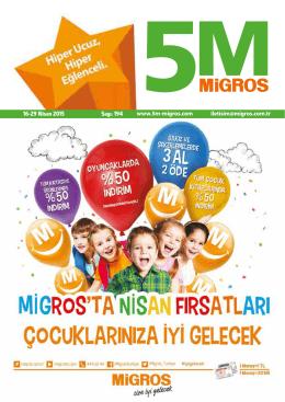 pdf indir - 5M Migros