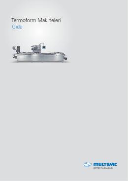 Termoform Makineleri Gıda - indir pdf