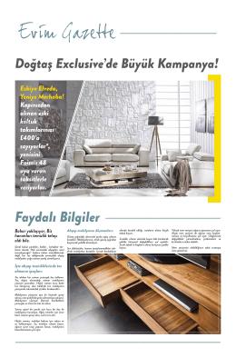 Doğtaş Exclusive - Creatif Designz