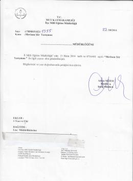 22. ngaru - mut ilçe millî eğitim müdürlüğü
