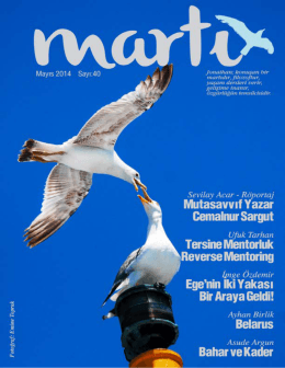 Mayıs - Martı Dergisi