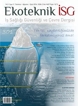 Temmuz-Ağustos-Eylül 2014 - PDF Formatında İndir