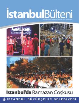 Haziran 2014 - İstanbul Büyükşehir Belediyesi