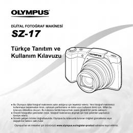 Türkçe Tanıtım ve Kullanım Kılavuzu SZ-17