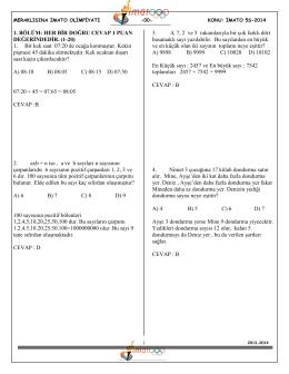 5.sınıf çözümleri