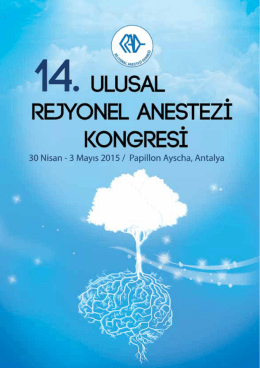 Devamı - Rejyonal Anestezi Derneği