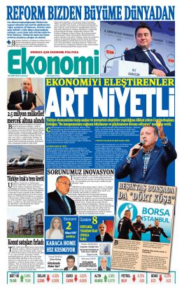 25 EKİM 2014 - Ekonomi Gazetesi