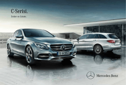 C-Serisi. - Mercedes-Benz