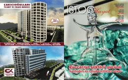 PDF İndir - İstoç Ticaret Merkezi