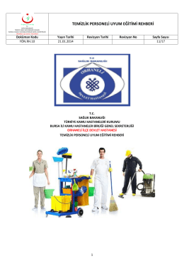 temizlik personeli uyum eğitimi rehberi