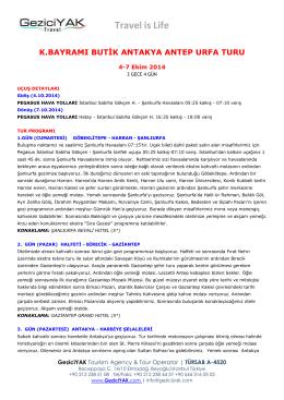 Antakya, Antep, Urfa (pdf)