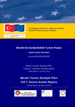 Taslak Rapor 1 - Mardin Sürdürülebilir Turizm Projesi